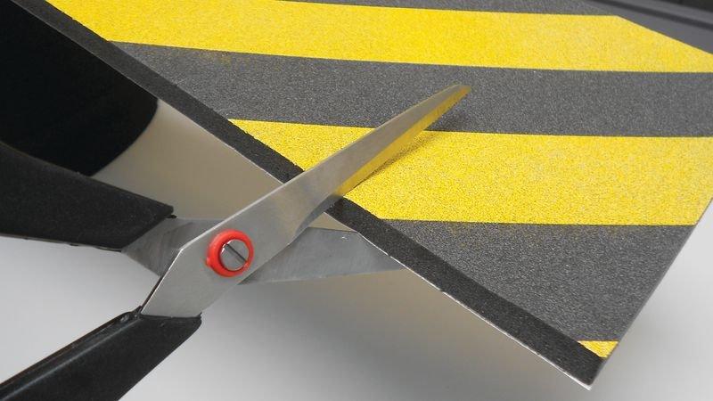 Protection en mousse conformable jaune et noir - Amortisseurs d'angles