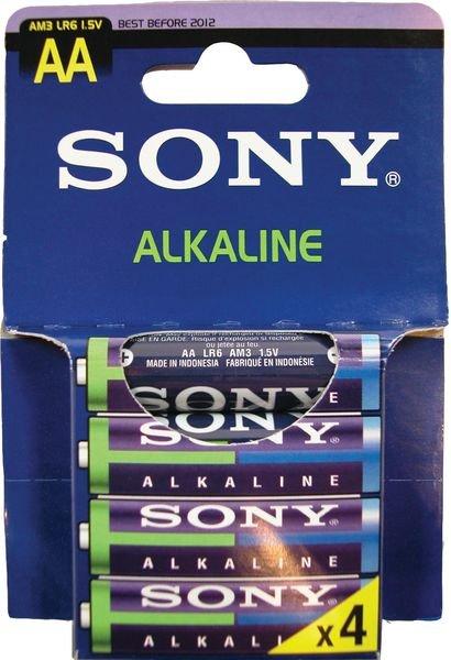 Piles alcaline à usage unique Sony de 1.5 V à 9 V