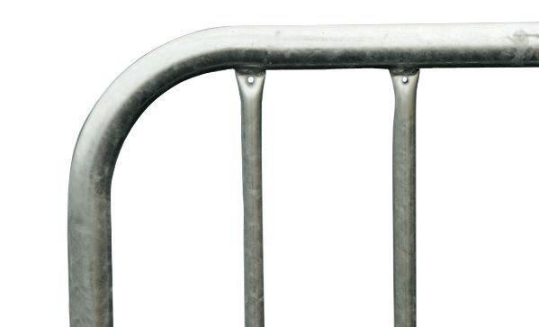 Barrière amovible de protection en galva 18 barreaux