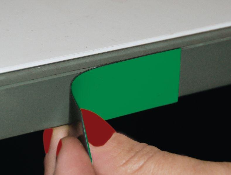 Rouleau de 10 m d'étiquettes magnétiques de couleur
