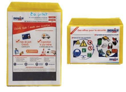 Pochette magnétique pour format A4 et A5