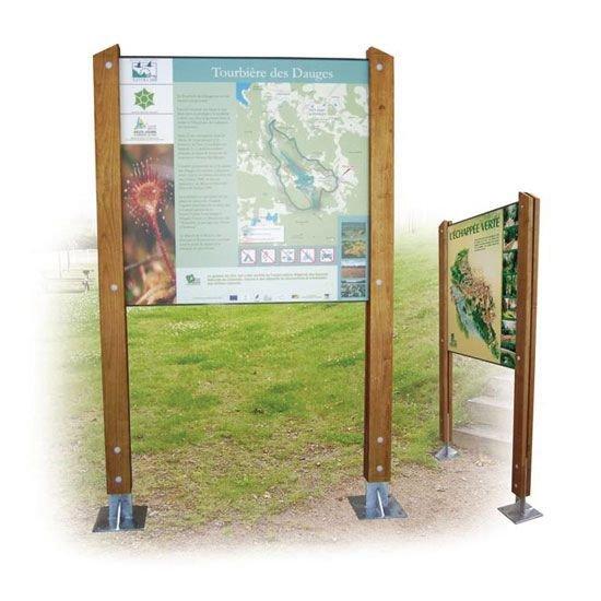 Planimètre publicitaire en bois Horizon