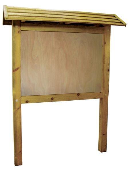 Planimètre bois 1 x 1.4 m toiture panneau contre-plaqué