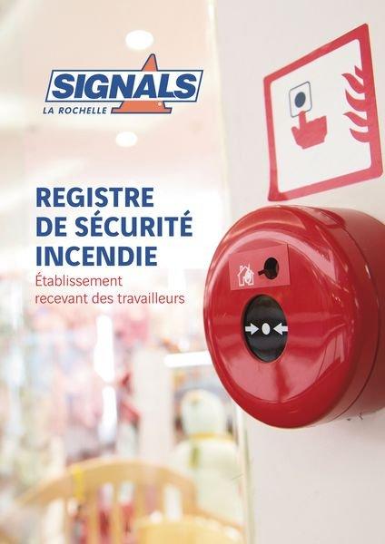 Registre de sécurité incendie 60 pages