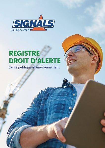 Registre Droit d'alerte santé et environnement