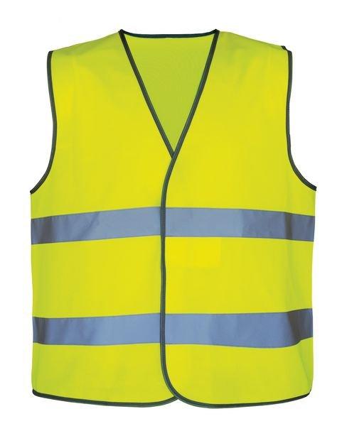 Gilets de sécurité haute visibilité taille unique