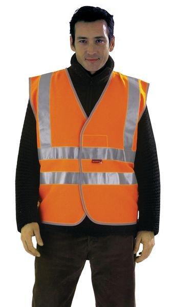 Gilets de sécurité Classe II Polyester
