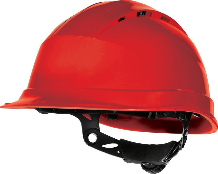 Casques de chantier ventilés avec serrage Rotor®