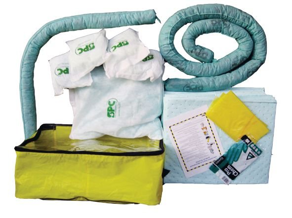 Kit d'absorption 57 l pour produits chimiques