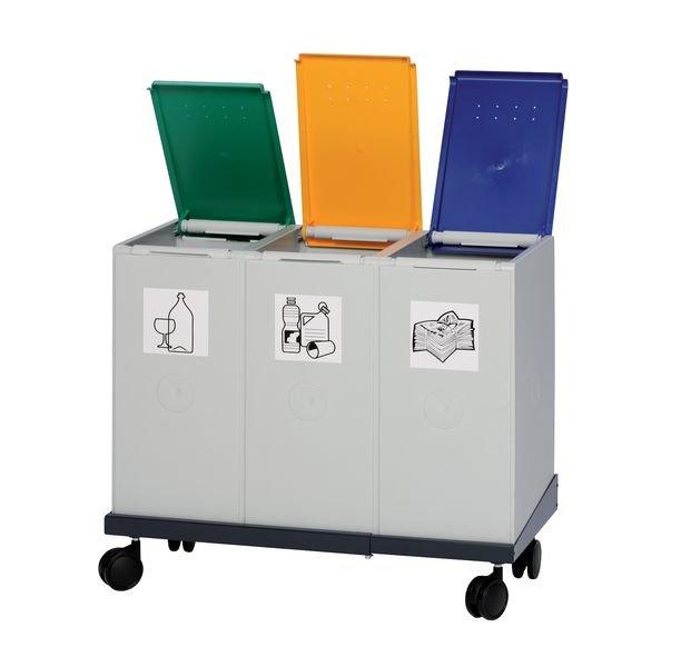 Système de collecteurs pour le tri sélectif