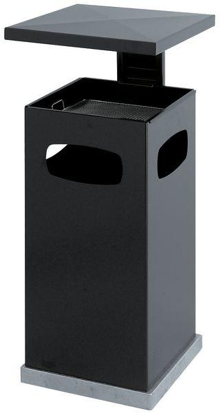 Cendrier poubelle 2 en 1 - 70 litres