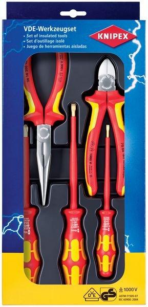 Jeu de 5 outils isolés 1000V