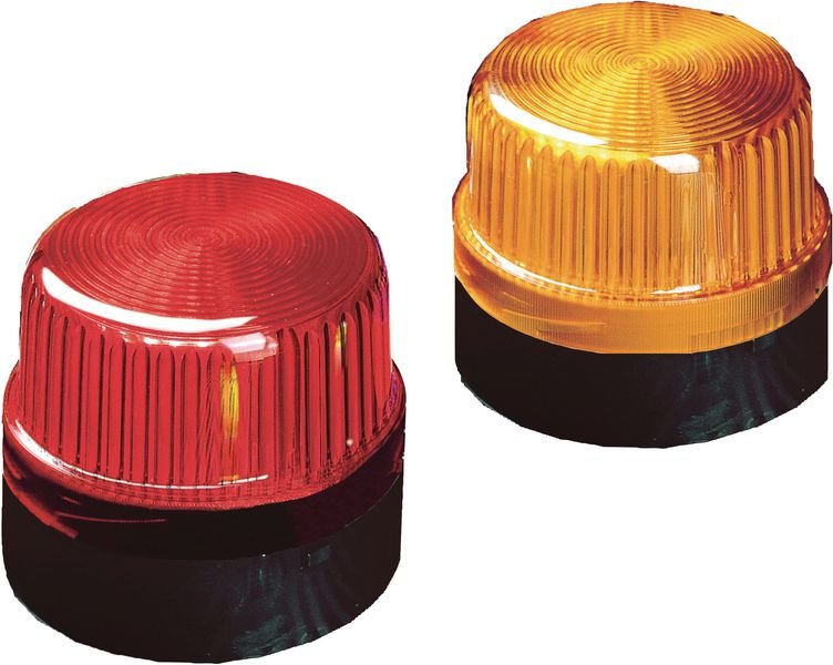 Feu clignotant simple Ø 120 mm sans visière 230 V