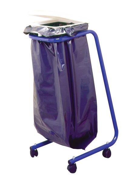 Support de sac poubelle avec couvercle