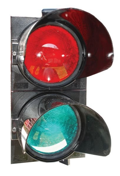 Bloc 2 optiques (rouge et vert)