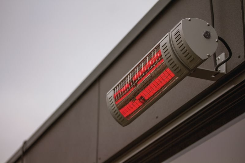 Chauffage infrarouge radiant IP65 2000 W