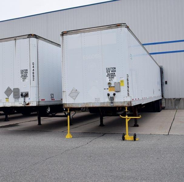 Béquille de sécurité double poteaux