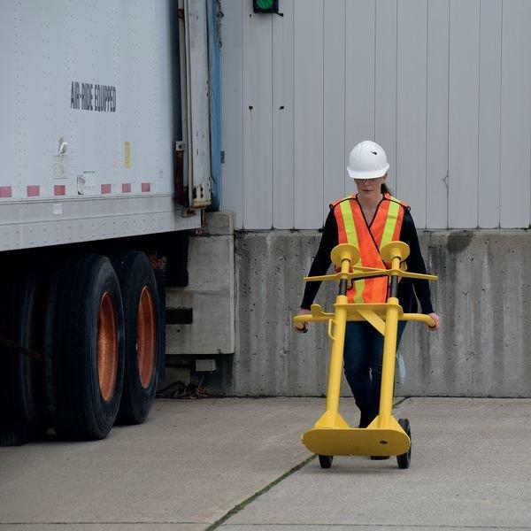 Béquille de sécurité double poteaux - Chargement, déchargement à quai