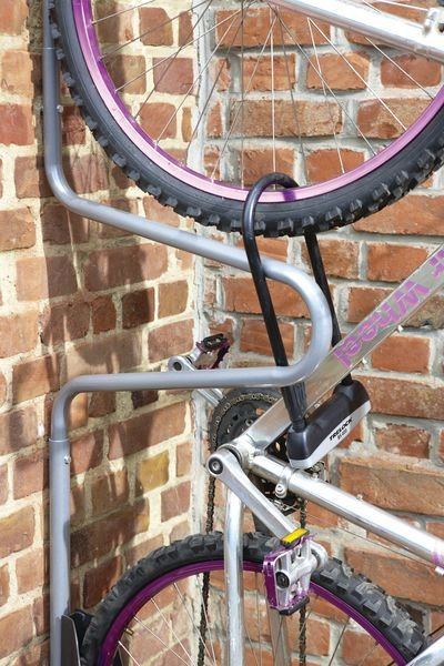 Range-vélos mural individuel - Equipements des locaux