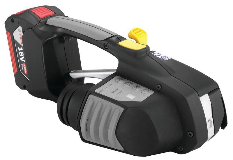 Tendeur à batterie pour cerclage automatique - Signals