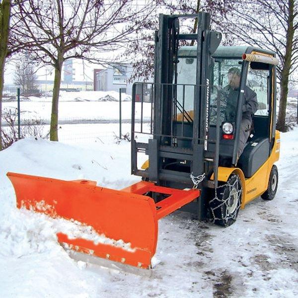 Lame chasse-neige pour chariot élévateur
