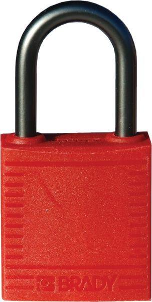 Cadenas de condamnation Nylon Alu Haut anse 38 mm