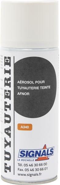 Les aérosols pour tuyauteries