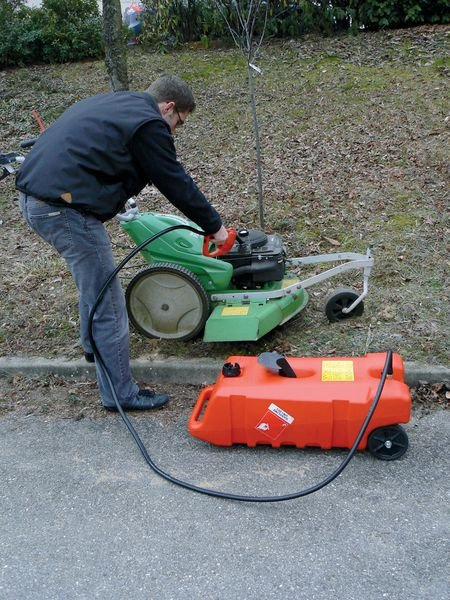 Chariot distributeur de carburant - Signals