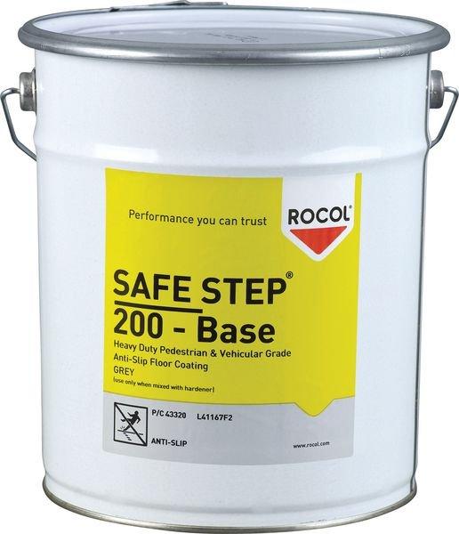 Peinture antidérapante 5 l Gris Safestep 200