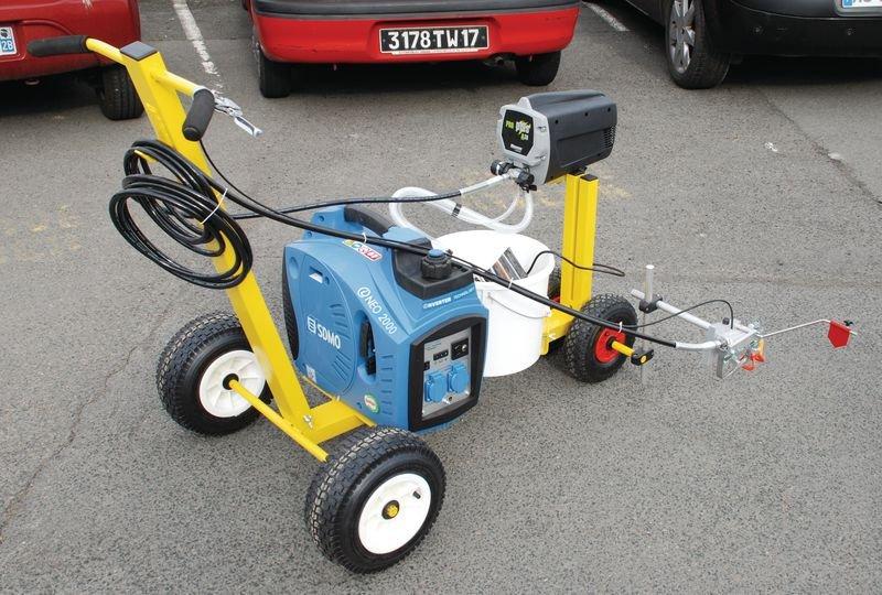 Machine pour un traçage précis Airless Liner - Marquage peinture au sol