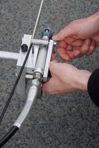 Machine pour un traçage précis Airless Liner