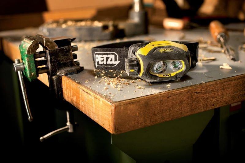 Lampe frontale Pixa® 3 rechargeable pour zones ATEX 2 - Signals