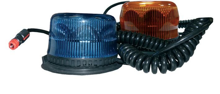 Gyrophares rotatifs 8 LED