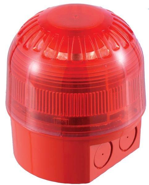 Avertisseur sonore et lumineux combiné LED 230 VCA