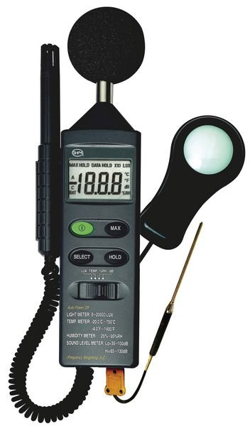 Thermomètre - hygromètre - luxmètre - sonomètre