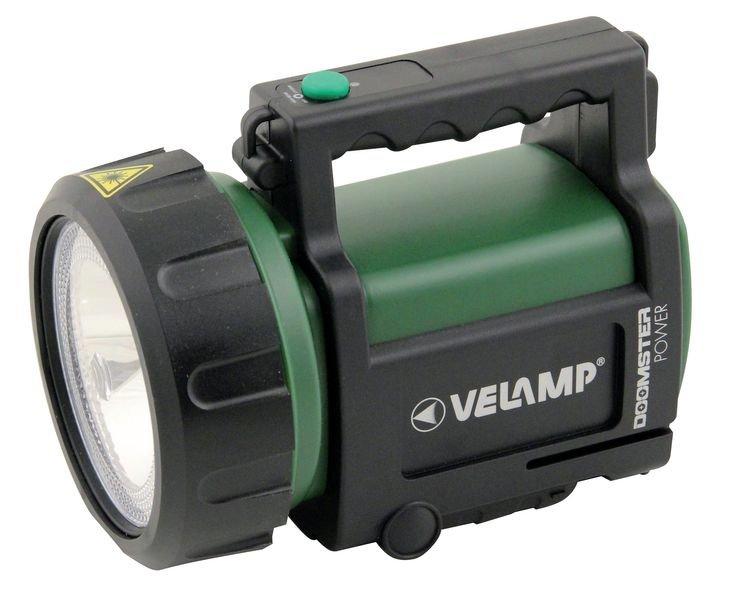 Projecteur LED rechargeable sur secteur et 12 Volts