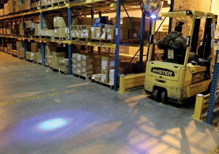 Phare Spot bleu LED - Signals