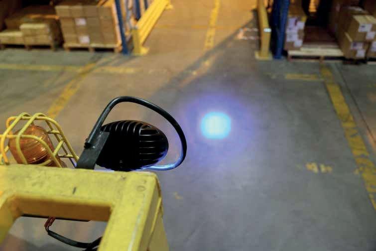 Phare Spot bleu LED - Projecteurs