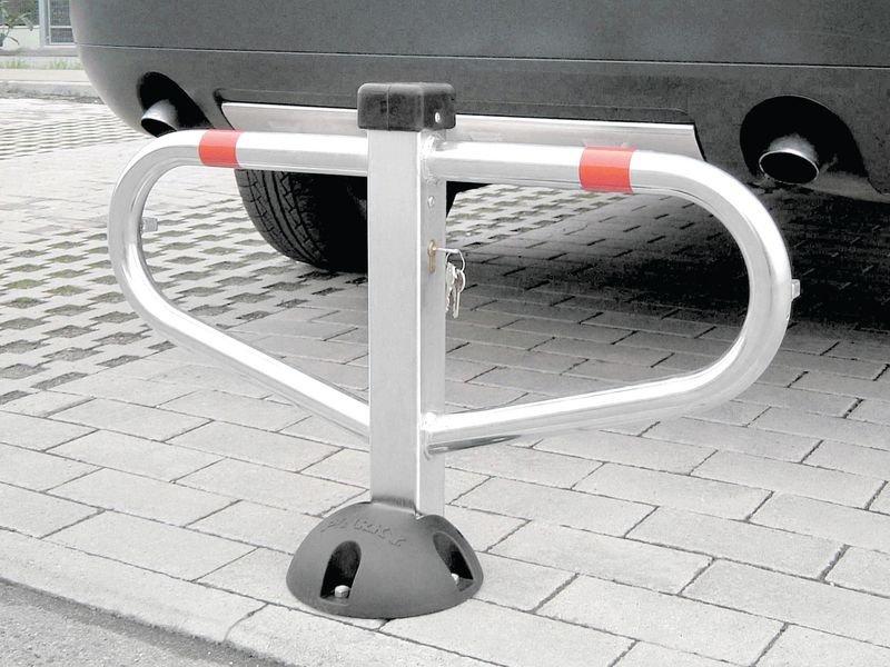 Arceau de parking monopied