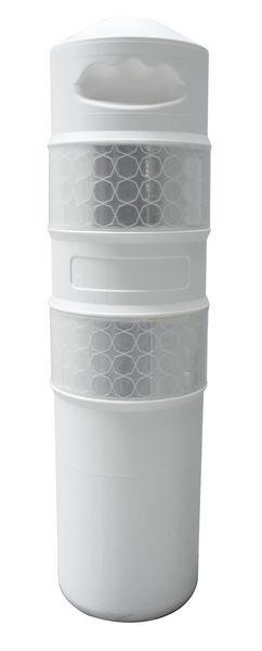 Balise polyéthylène 750 mm + Vis/Cheville