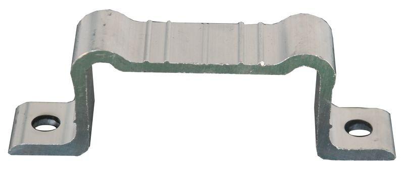 Brides pour panneaux en alu avec profil cintré