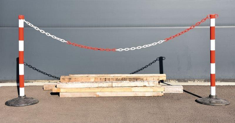 Kit 2 poteaux à chaîne