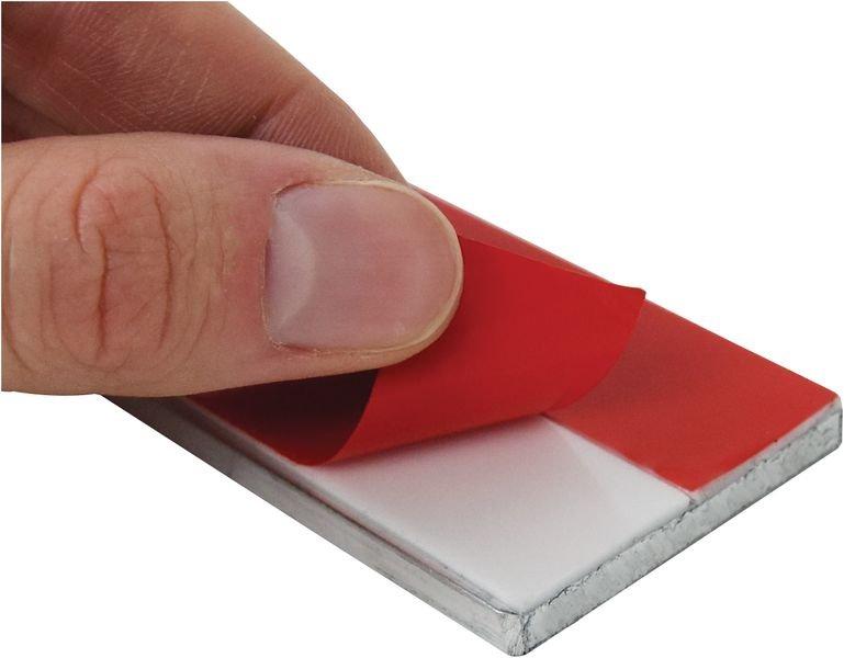 Plat aluminium pour fixation drapeau 400 x 150 mm - Poteaux, fourreaux et accessoires