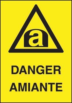 Balise éco Danger amiante - Signals