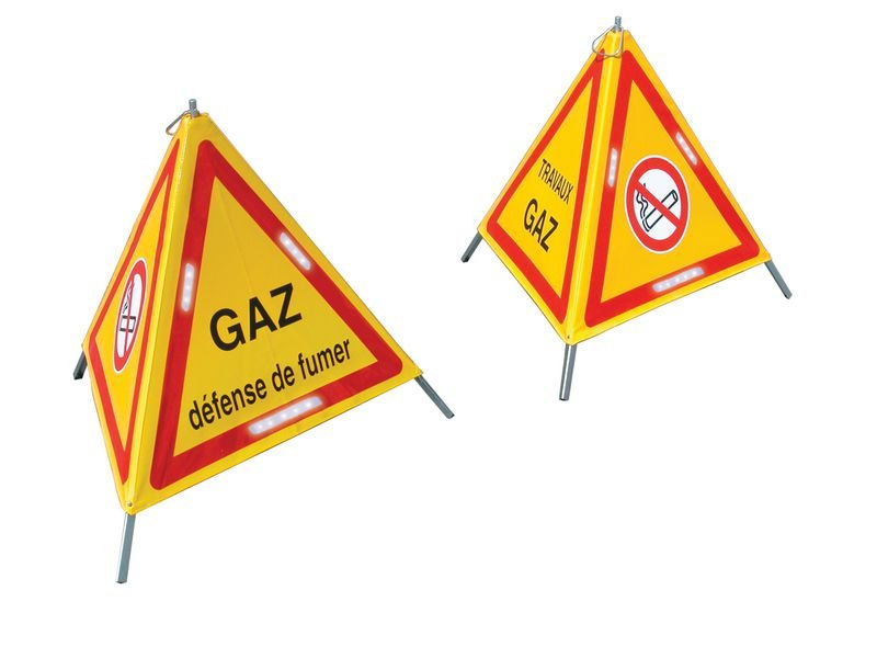 Triangles de signalisation à LED Hors standard
