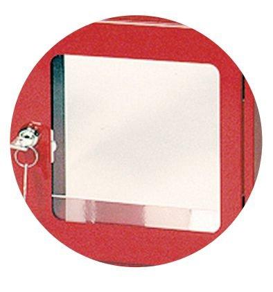 Façade de rechange pour boîte sous verre dormant