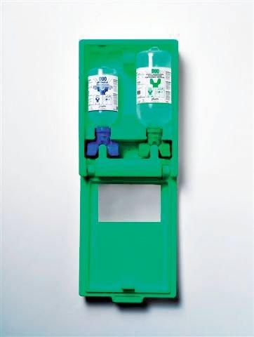 Coffret mural lave-œil duo Solution saline/neutre