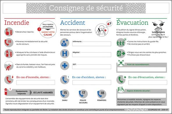 Consignes générales de sécurité