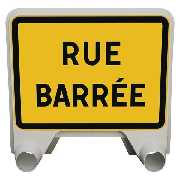 Panneau Mistral Rue barrée