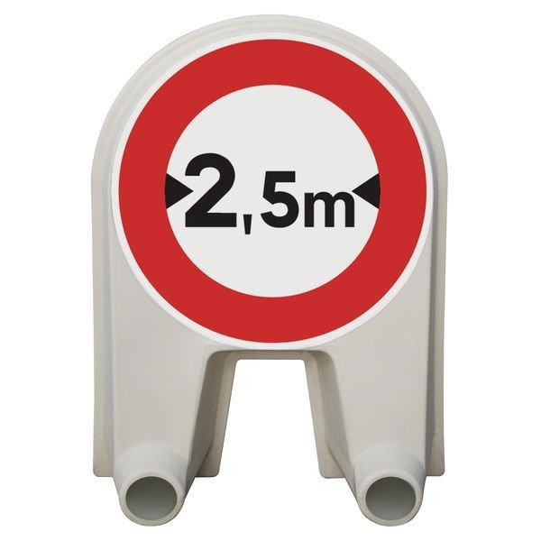 Panneau Mistral Limitation de largeur Classe 1 ou 2